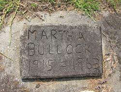 Martha Bullock