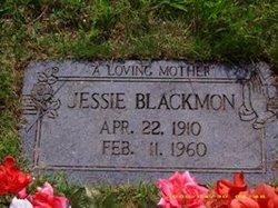 Jessie Irene <i>Hurst</i> Blackmon