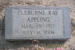 Cleburne Ray Appling