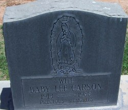 Baby Lee Carson