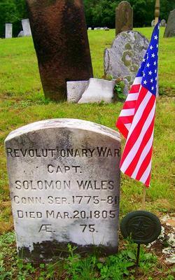 Capt Solomon Wales