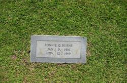 Ronnie O. Burns