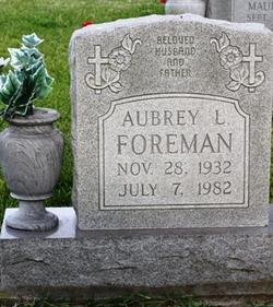Aubrey L Foreman