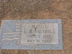 Sgt E B Nichols