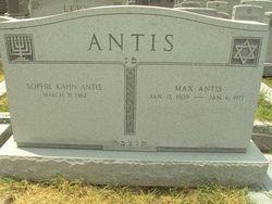 Sophie <i>Kahn</i> Antis