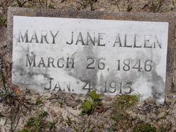 Mary Jane <i>Collins</i> Allen