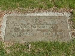 Joan M Abbott