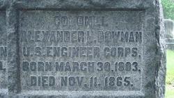 Col Alexander Hamilton Bowman