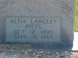 Cherry Altia <i>Langley</i> Pitts
