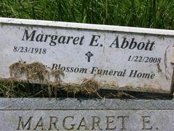 Margaret E. <i>Coleman</i> Abbott