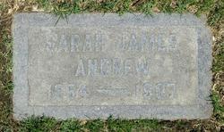 Sarah <i>James</i> Andrew