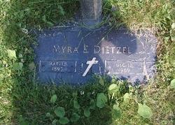 Myra E. <i>Saxton</i> Dietzel