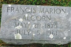 Francis Marion Alcorn, Jr