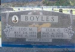 Ella Gertie <i>Lamar</i> Boyles