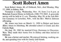 Scott Robert Amen