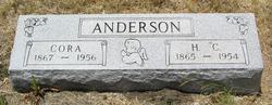 Cora <i>Woods</i> Anderson