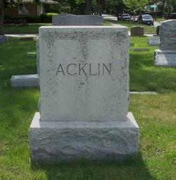 Charles F. Acklin