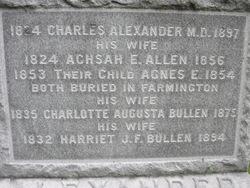Achsah E. <i>Allen</i> Alexander