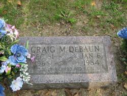 Craig M DeBaun