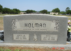 Mary Louise <i>Bennett</i> Holman