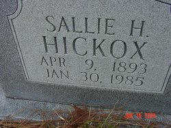Sarah Sallie <i>Harris</i> Hickox