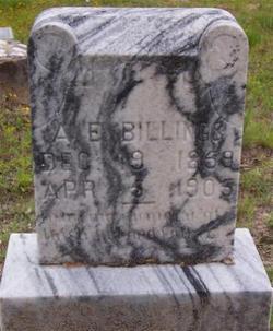 A E Billings