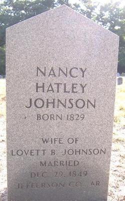 Nancy <i>Hatley</i> Johnson