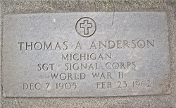 Thomas A Anderson