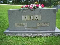Fannie Jane <i>Culbertson</i> Cox