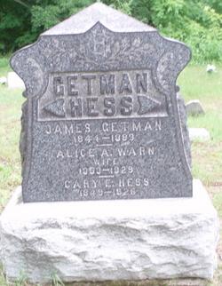Alice A. <i>Warn</i> Getman