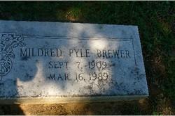 Mildred <i>Pyle</i> Brewer
