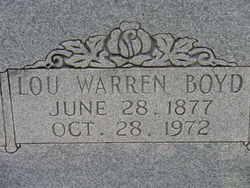 Lou Warren Boyd