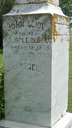 Alphonzo L Bedell