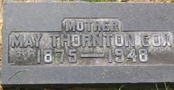 Sarah May <i>Thornton</i> Cox