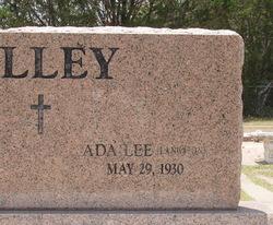 Ada Lee <i>Langston</i> Alley