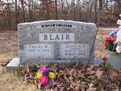 Audrey F. <i>Osborn</i> Blair