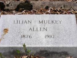 Lillian <i>Mulkey</i> Allen