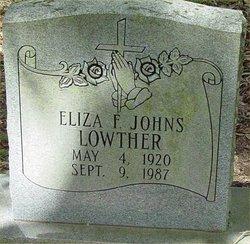 Eliza <i>Flowers</i> Lowther