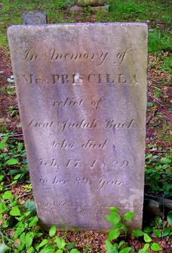 Priscilla <i>Gates</i> Back