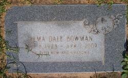 Alma Dale <i>Lindau</i> Bowman
