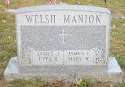 Mary <i>Welsh</i> Manion