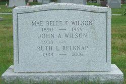 Mae Belle <i>Crocker</i> Wilson