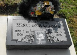 Mrs Bernice <i>Evans</i> McDonald
