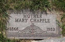 Mary 'Polly' <i>Wild</i> Chapple