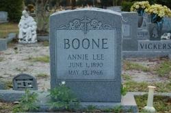 Annie Lee <i>Raines</i> Boone