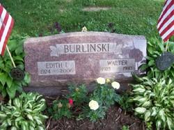 Edith Irene <i>Rodgers</i> Burlinski