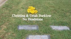 Christine Elizabeth <i>Barker</i> Burklow