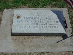 Andrew J Folk