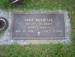 Lera Ruth <i>Phillips</i> Lee