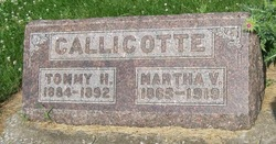 Martha V. <i>Hardesty</i> Callicotte